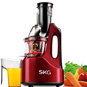 SKG Anti-oxidation - Best Wide Chute Masticating Juicer