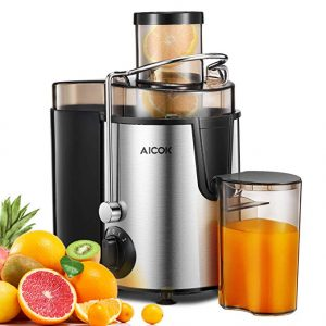 Aicok Centrifugal Juicer with Wide Mouth